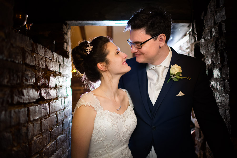 Hannah and Tom's November wedding at The Plough at Leigh with Terence Joseph Photography (34)