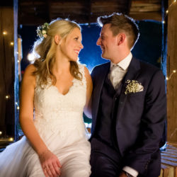 Leigh & Adam's rustic barn wedding in Kent, with Terence Joseph Photography