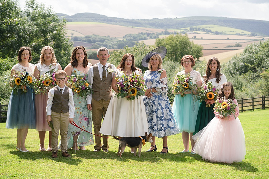 A gloriously creative Devon wedding at Eggbeer Farm, with images by Linus Moran Photography (13)
