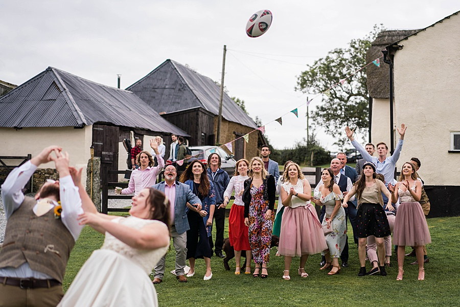 A gloriously creative Devon wedding at Eggbeer Farm, with images by Linus Moran Photography (41)