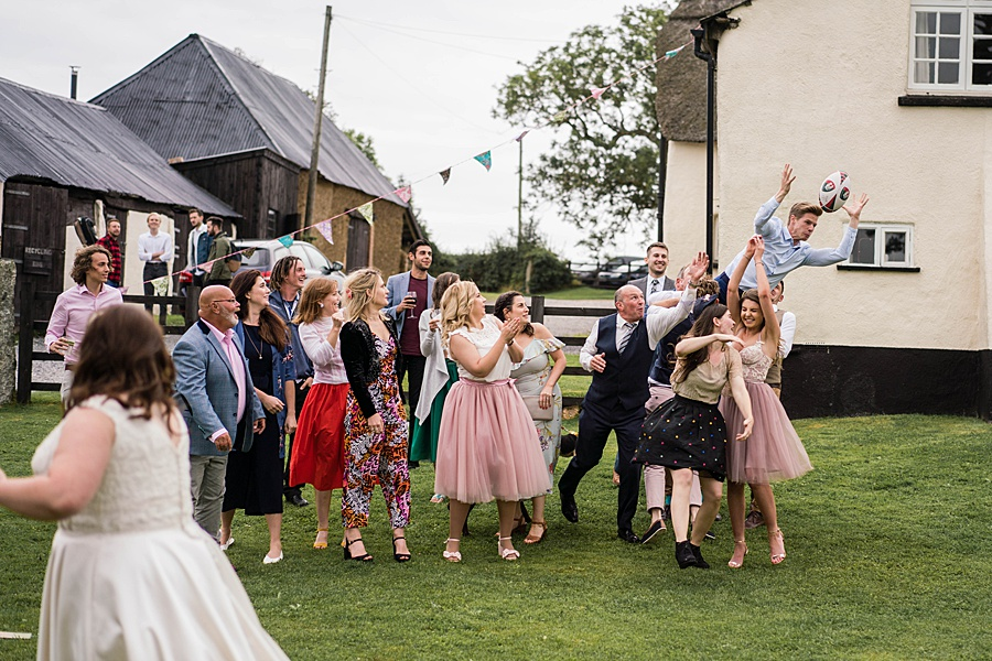 A gloriously creative Devon wedding at Eggbeer Farm, with images by Linus Moran Photography (42)