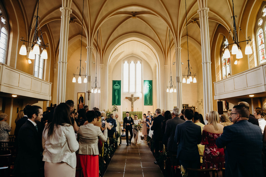 Luisa and Jack's wedding at St Mary and St Giles, Stony Stratford with Richard Skins Photography