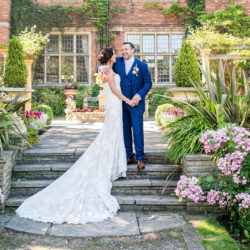 Emma & Paul's Beautiful English Summer garden party wedding, with Damian Burcher Photography