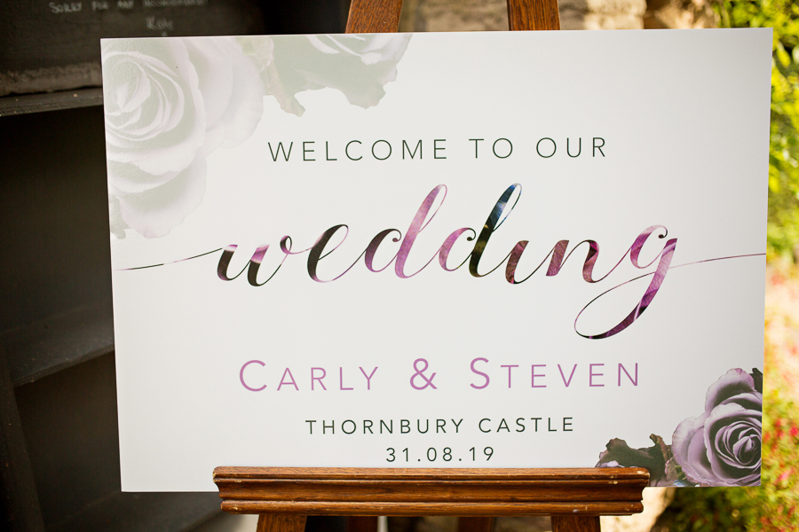Carly and Steve's beautiful outdoor wedding at Thornbury Castle, with Martin Dabek Photography (9)