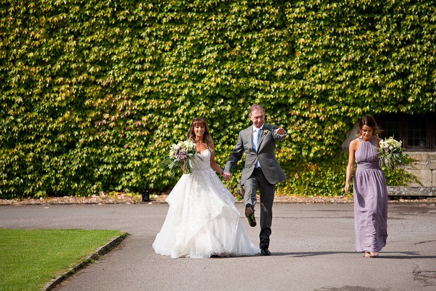 Carly and Steve's beautiful outdoor wedding at Thornbury Castle, with Martin Dabek Photography (12)