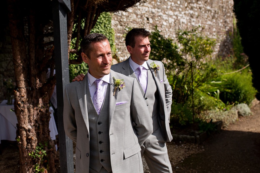 Carly and Steve's beautiful outdoor wedding at Thornbury Castle, with Martin Dabek Photography (13)