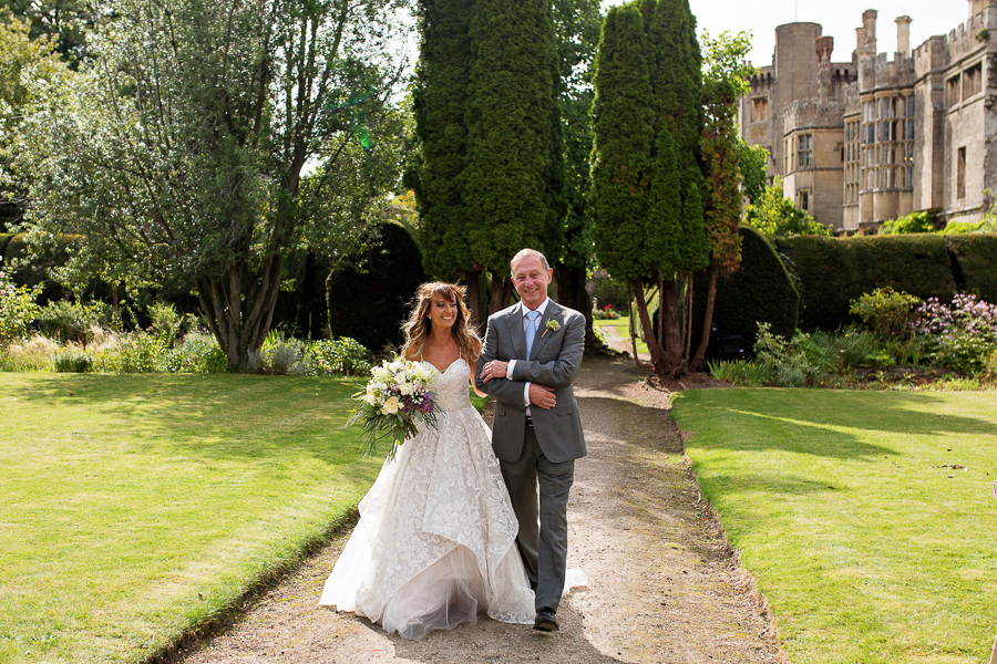 Carly and Steve's beautiful outdoor wedding at Thornbury Castle, with Martin Dabek Photography (14)