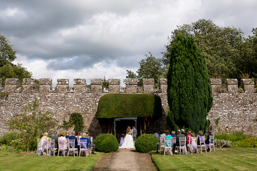 Carly and Steve's beautiful outdoor wedding at Thornbury Castle, with Martin Dabek Photography (15)