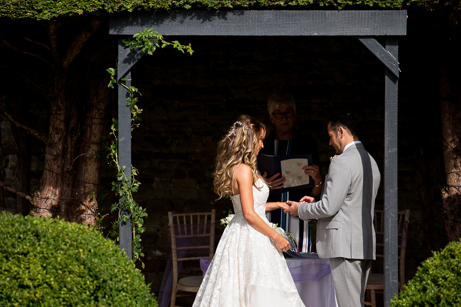 Carly and Steve's beautiful outdoor wedding at Thornbury Castle, with Martin Dabek Photography (16)