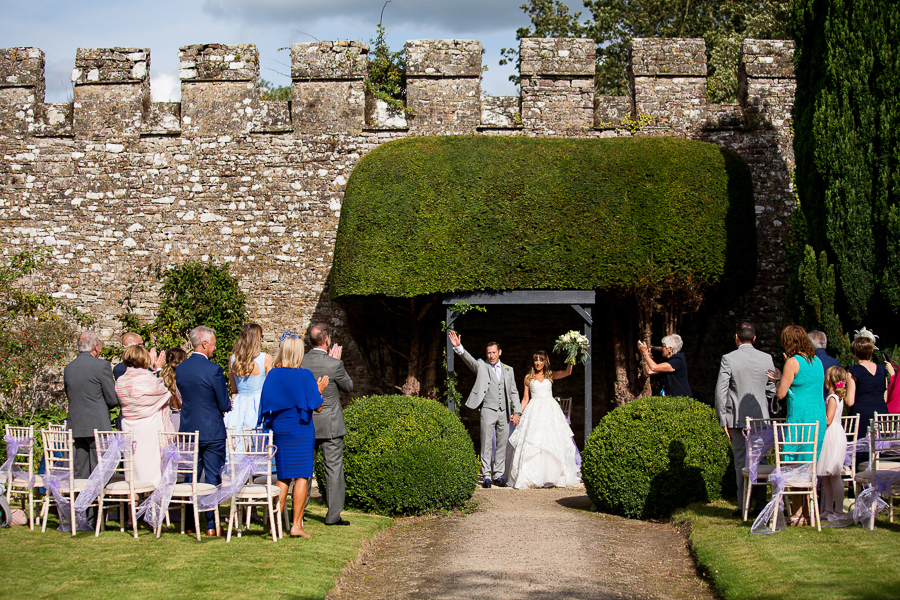 Carly and Steve's beautiful outdoor wedding at Thornbury Castle, with Martin Dabek Photography (17)