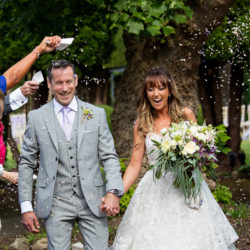Carly and Steve's beautiful outdoor wedding at Thornbury Castle, with Martin Dabek Photography