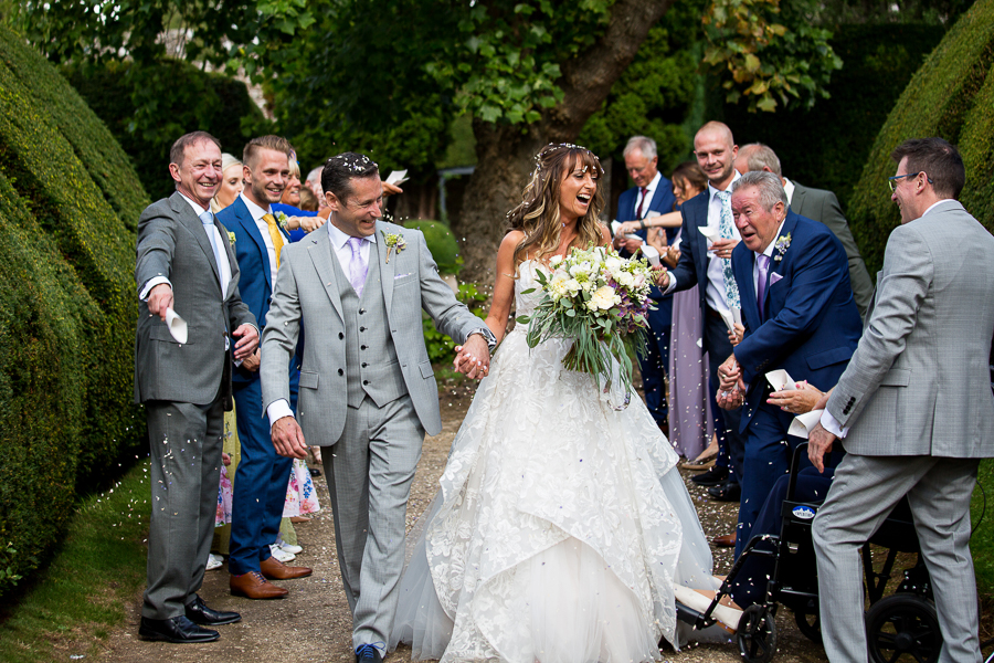 Carly and Steve's beautiful outdoor wedding at Thornbury Castle, with Martin Dabek Photography (19)