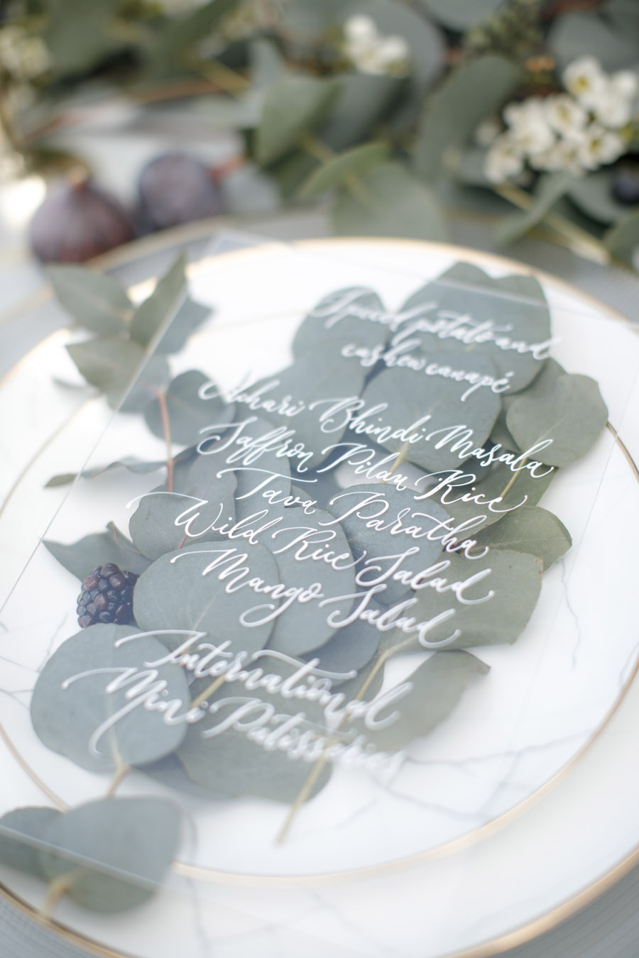 Winter wedding calligraphy ideas, image credit Zehra Jagani (5)