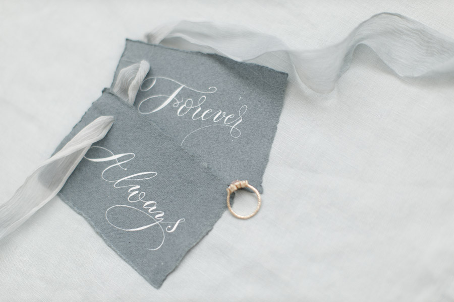 Winter wedding calligraphy ideas, image credit Zehra Jagani (1)