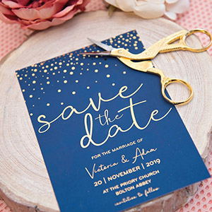 luxury uk wedding stationery