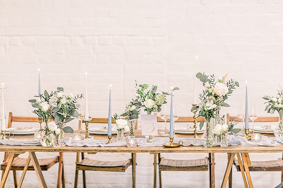 Barn venue transformed for a beautiful modern wedding, photo credit Terri and Lori (4)