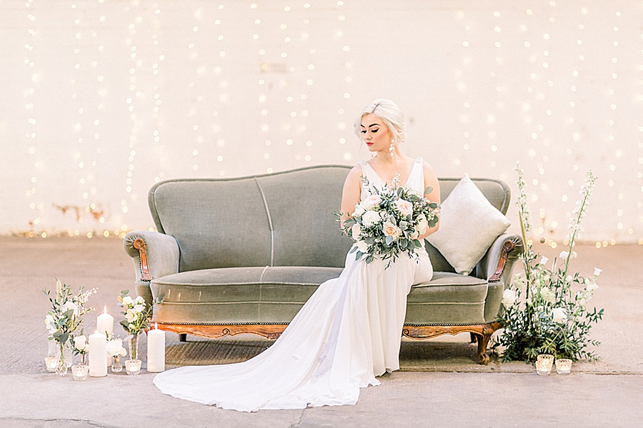 Barn venue transformed for a beautiful modern wedding, photo credit Terri and Lori (29)