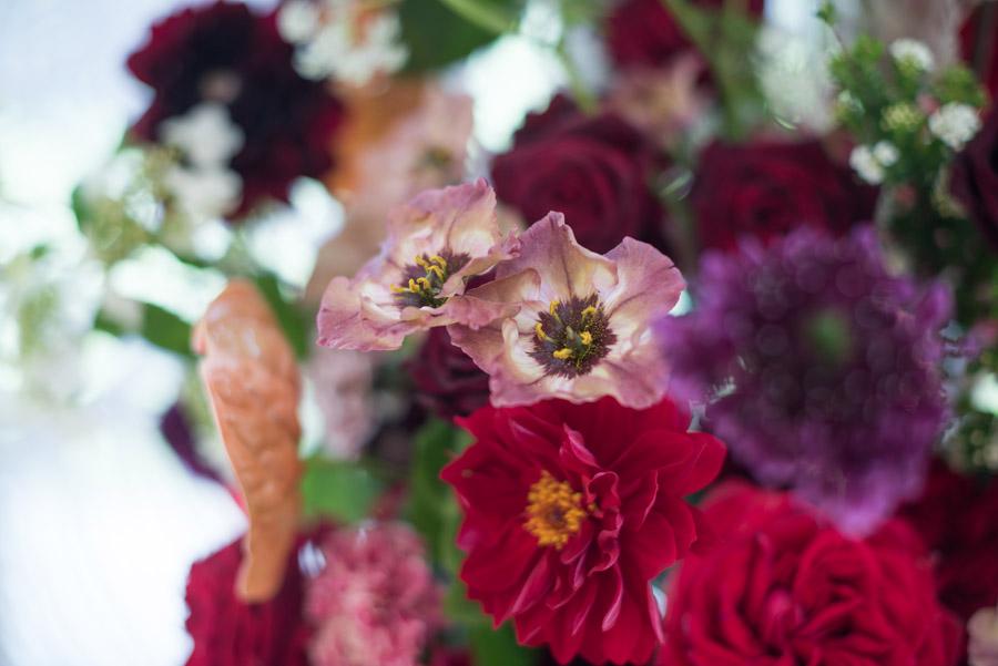 floral wedding ideas at Millbridge Court on English Wedding - photo credit Julie Michaelsen Photography (2)