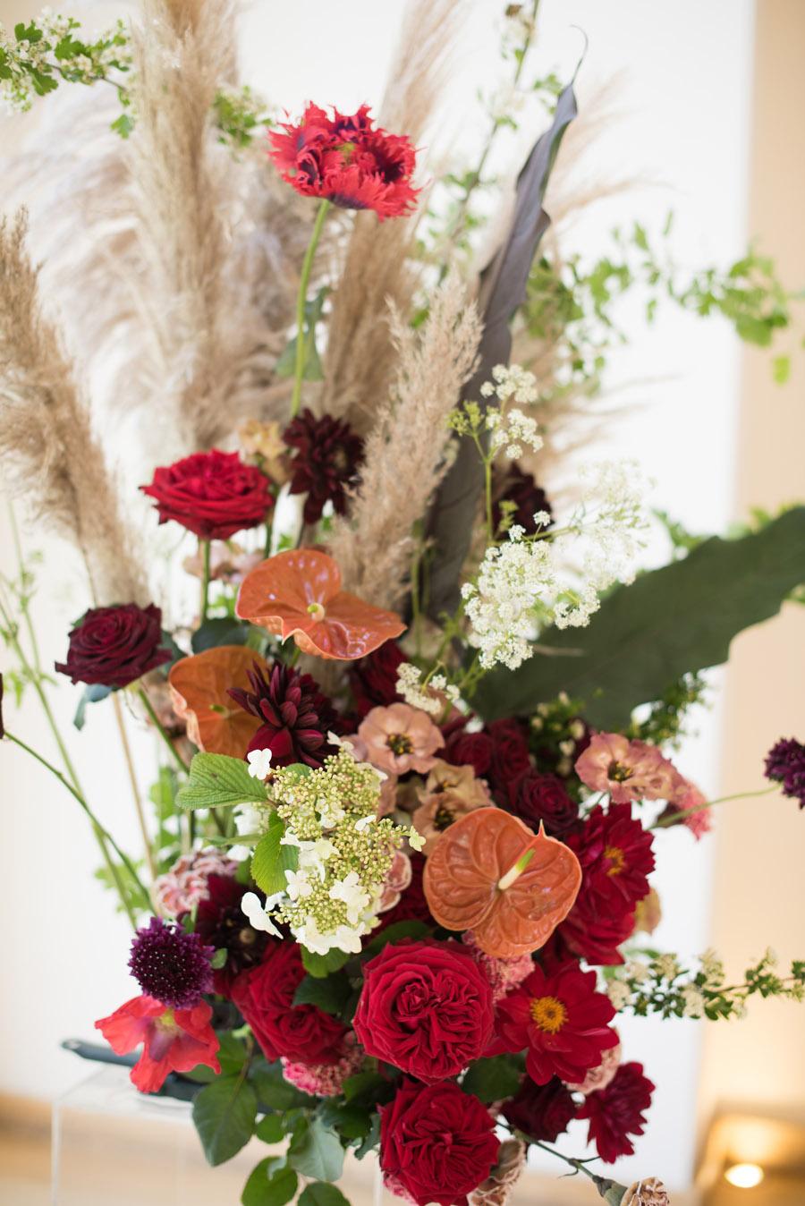 floral wedding ideas at Millbridge Court on English Wedding - photo credit Julie Michaelsen Photography (12)