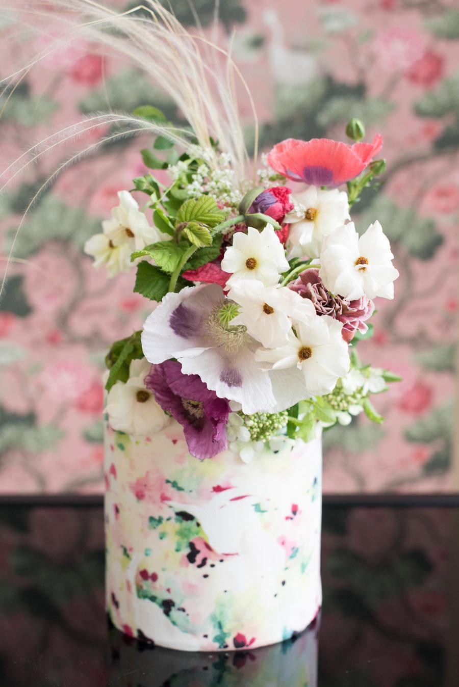 floral wedding ideas at Millbridge Court on English Wedding - photo credit Julie Michaelsen Photography (30)