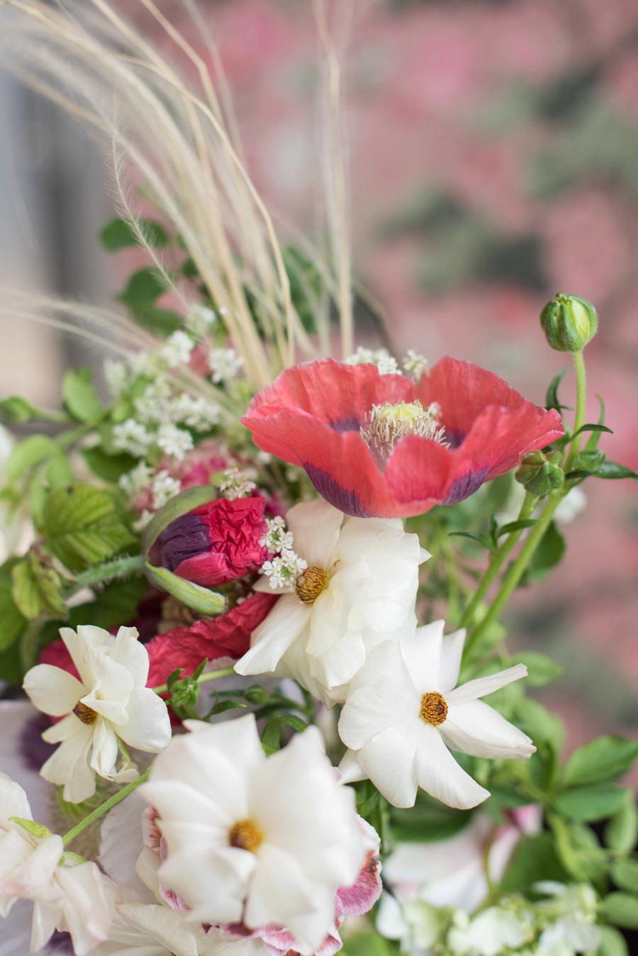 floral wedding ideas at Millbridge Court on English Wedding - photo credit Julie Michaelsen Photography (31)