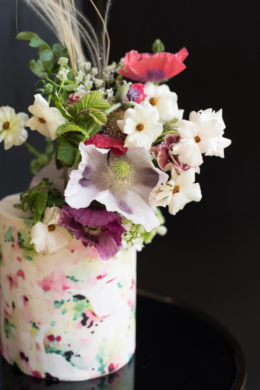 floral wedding ideas at Millbridge Court on English Wedding - photo credit Julie Michaelsen Photography (34)