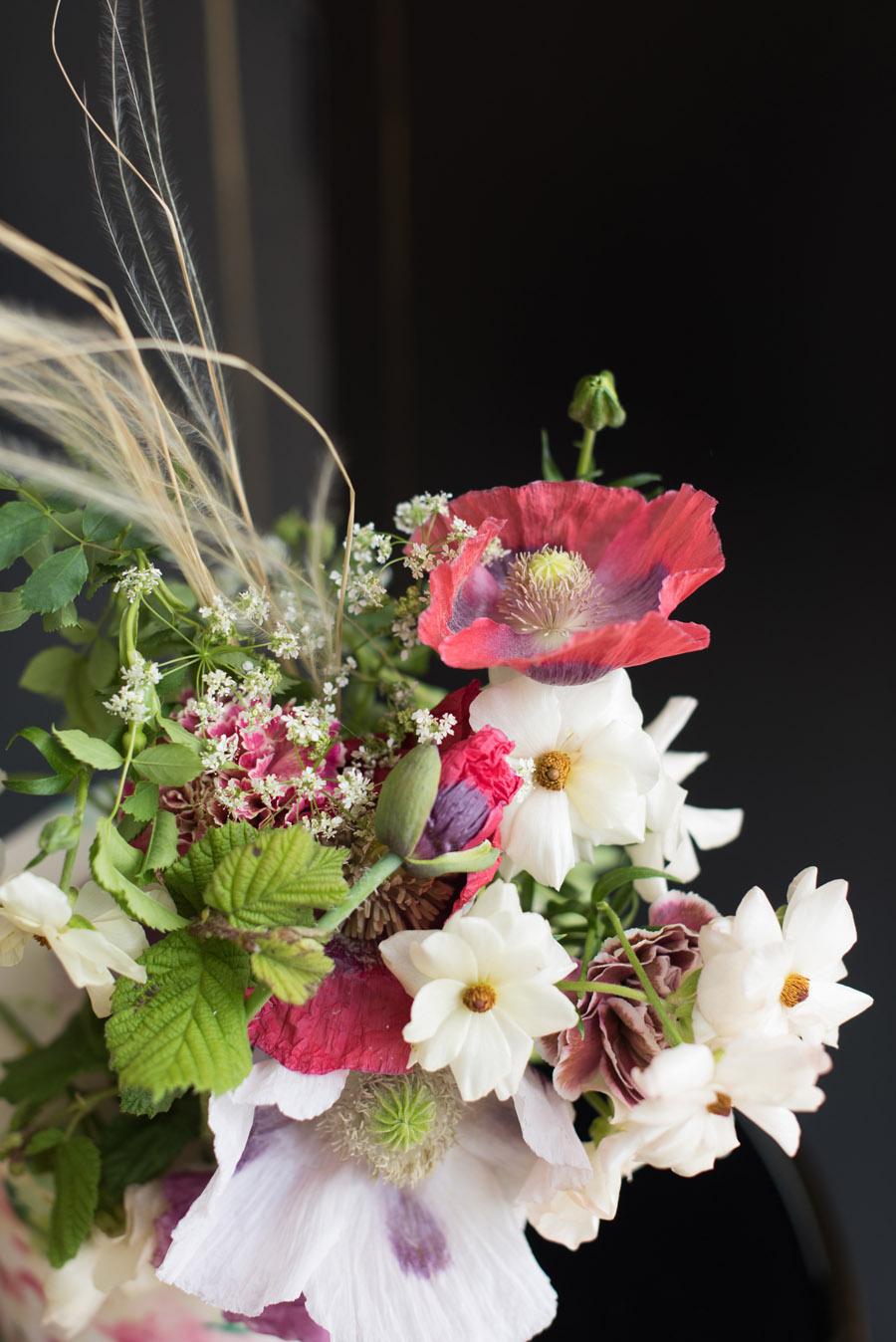 floral wedding ideas at Millbridge Court on English Wedding - photo credit Julie Michaelsen Photography (35)