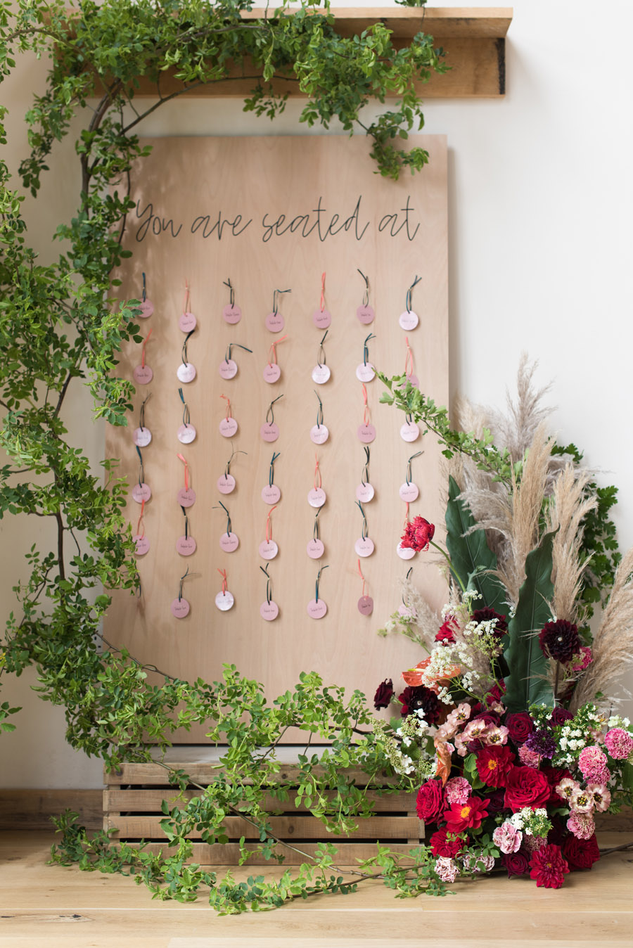 floral wedding ideas at Millbridge Court on English Wedding - photo credit Julie Michaelsen Photography (37)