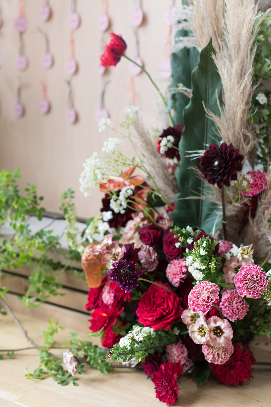 floral wedding ideas at Millbridge Court on English Wedding - photo credit Julie Michaelsen Photography (38)