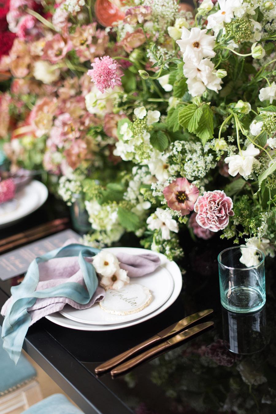 floral wedding ideas at Millbridge Court on English Wedding - photo credit Julie Michaelsen Photography (42)