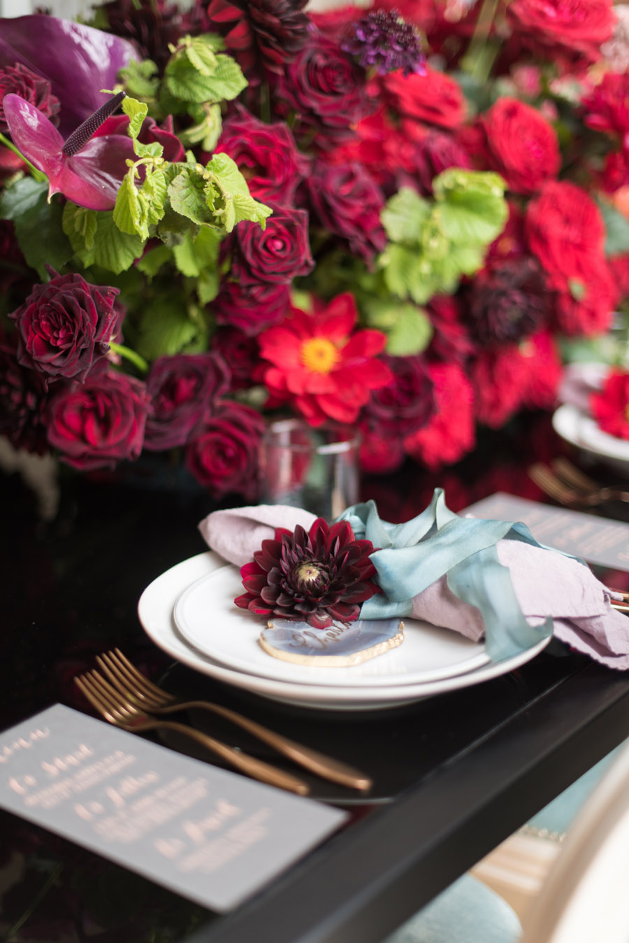 floral wedding ideas at Millbridge Court on English Wedding - photo credit Julie Michaelsen Photography (45)