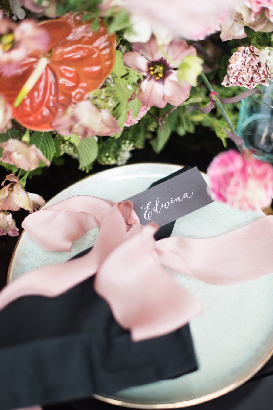 floral wedding ideas at Millbridge Court on English Wedding - photo credit Julie Michaelsen Photography (46)