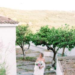 Adam and Jacqueline's sunny and romantic destination wedding in Crete!