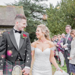 Blush and burgundy for Aimee & James's autumnal Glemham Hall wedding with Ayshea Goldberg Photography