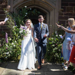 Joshua and Chloe's beautifully personal Silsoe wedding, with Becky Kerr Photography