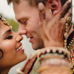Priyal & Dan's fabulous English & Indian fusion wedding, with MIKI Studios at Braxted Park