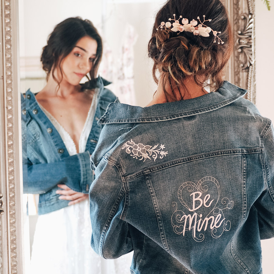 Embroidered jacket - photo by Lauren Barber