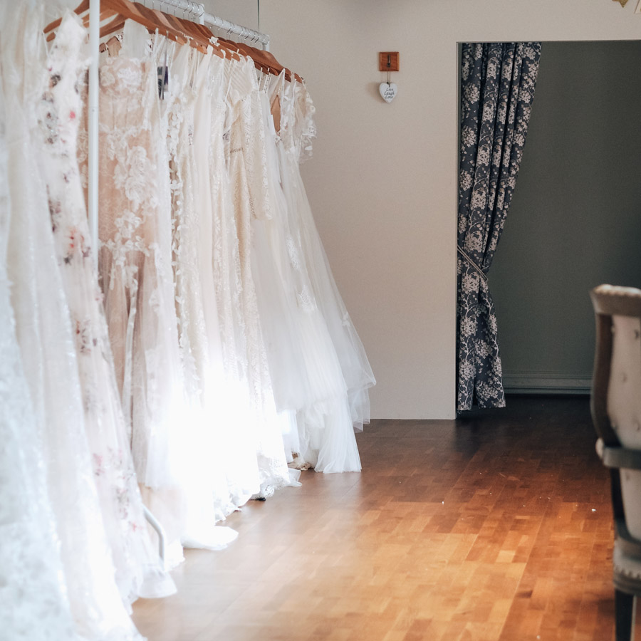 Inside Bridal Indulgence - Photo by Lauren Barber