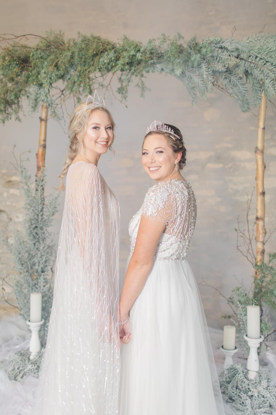 Winter Elegance Frozen wedding style on English-Wedding.com with Natalie Stevenson Photography (30)