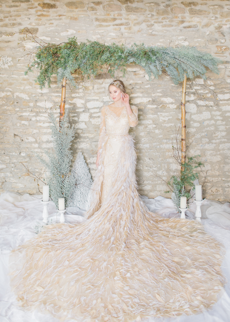 Winter Elegance Frozen wedding style on English-Wedding.com with Natalie Stevenson Photography (43)