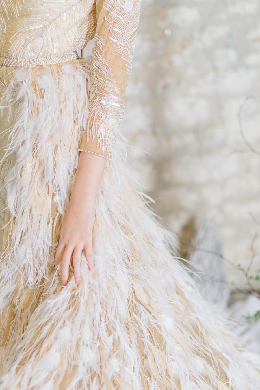 Winter Elegance Frozen wedding style on English-Wedding.com with Natalie Stevenson Photography (45)
