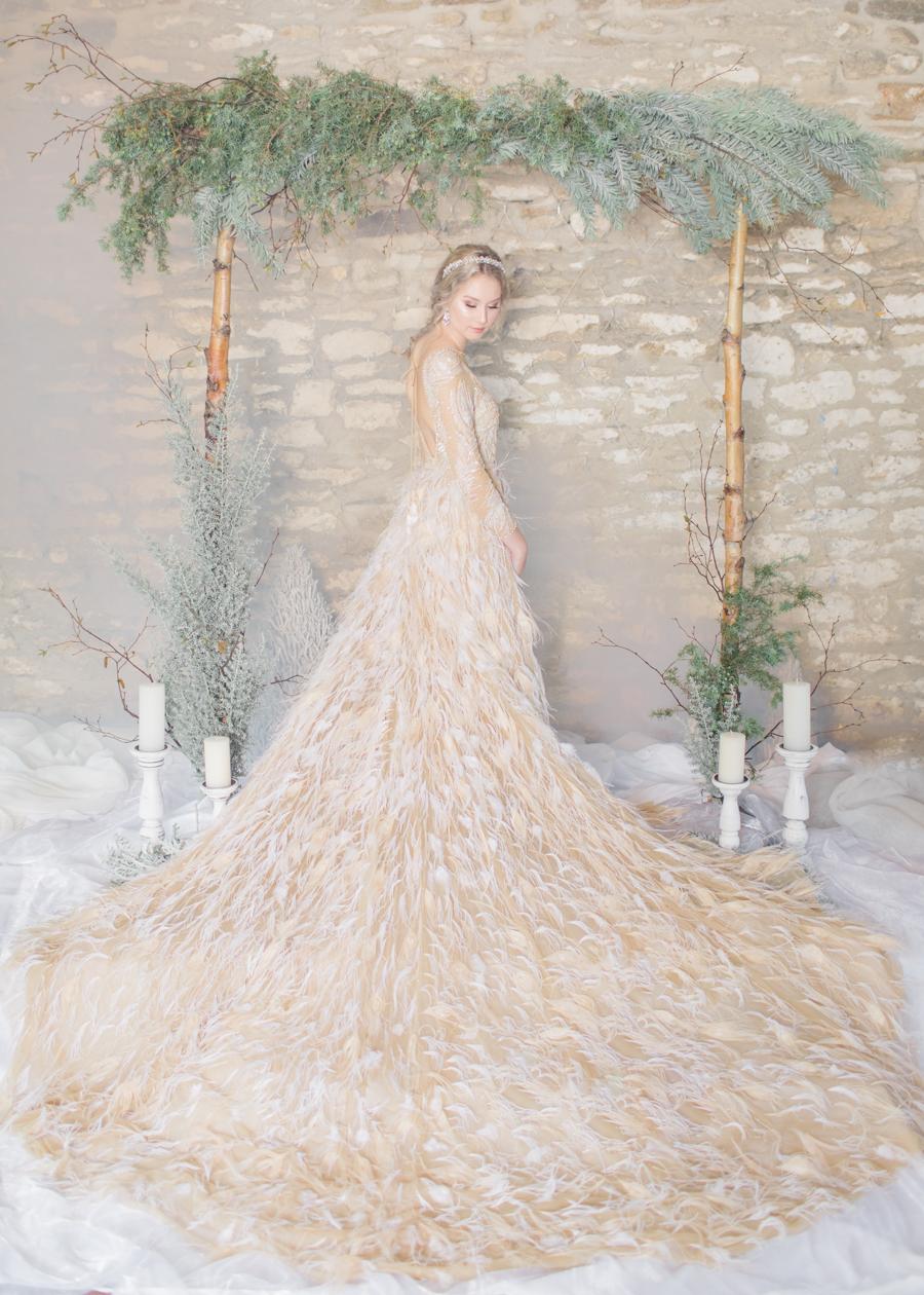 Winter Elegance Frozen wedding style on English-Wedding.com with Natalie Stevenson Photography (47)