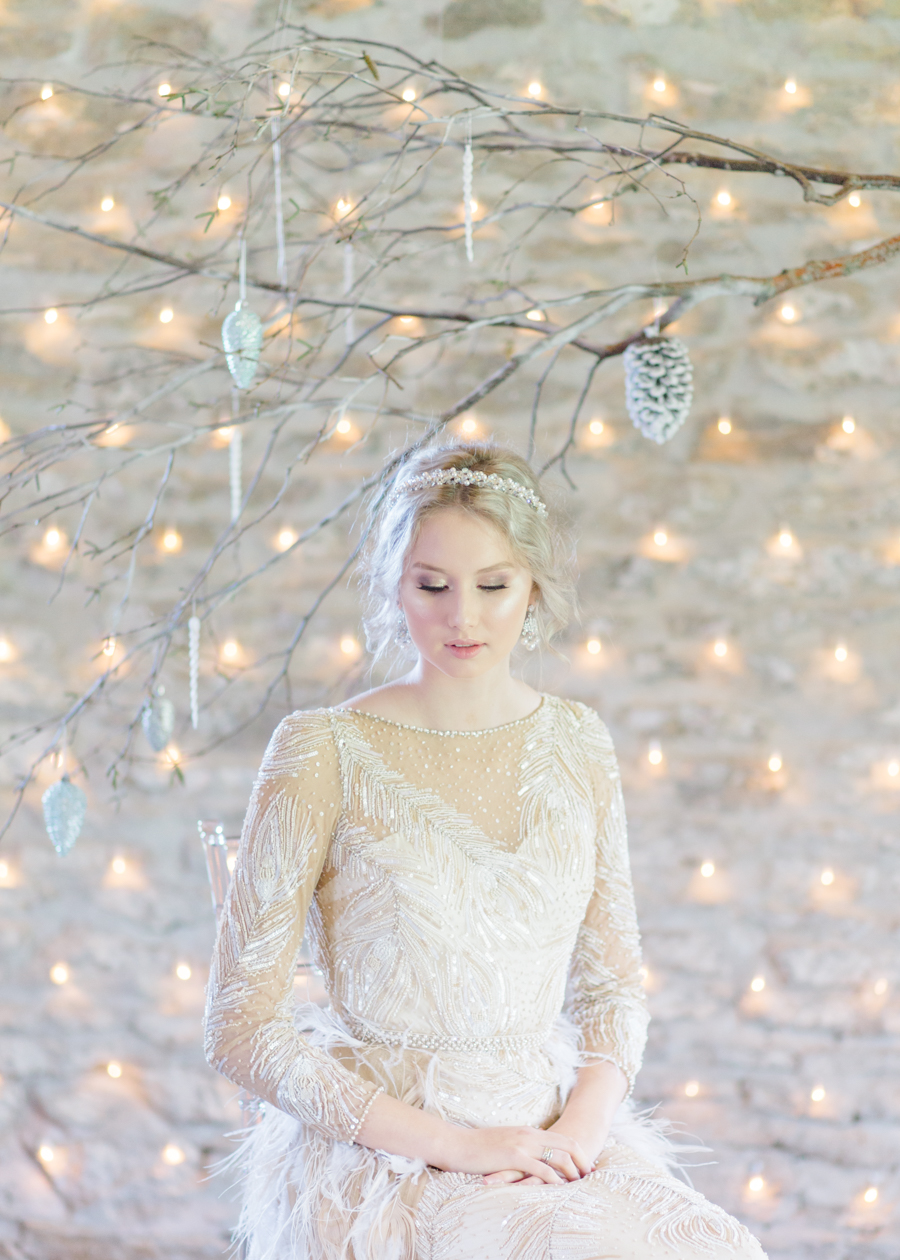 Winter Elegance Frozen wedding style on English-Wedding.com with Natalie Stevenson Photography (54)