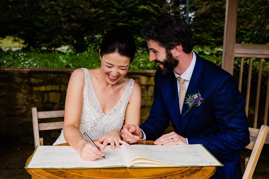 Nikki & Gareth's gloriously happy Pennard House wedding with Jonny Barratt Photography (25)