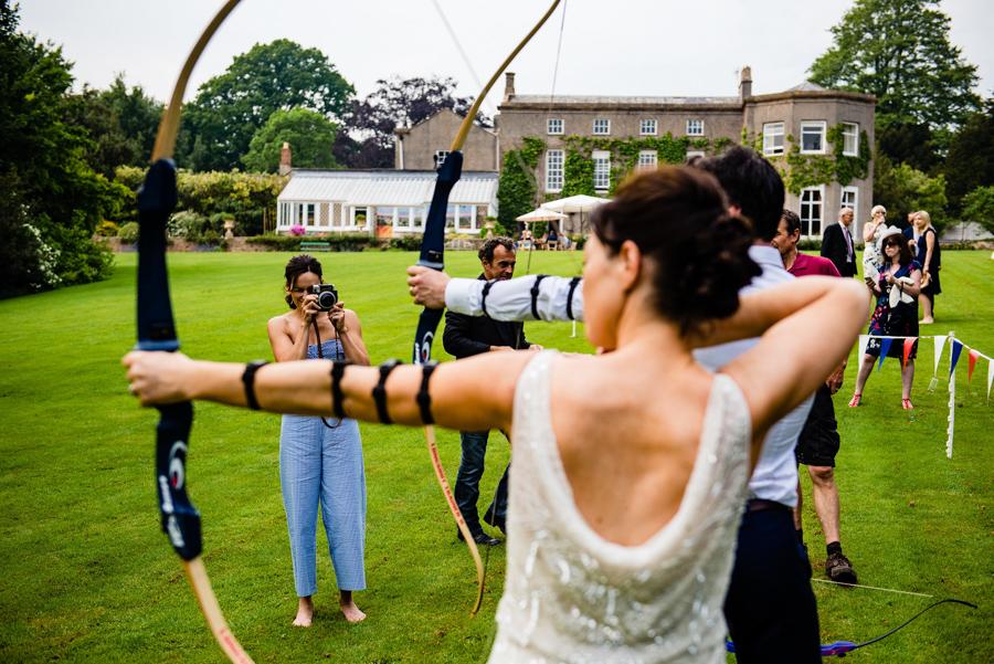 Nikki & Gareth's gloriously happy Pennard House wedding with Jonny Barratt Photography (33)