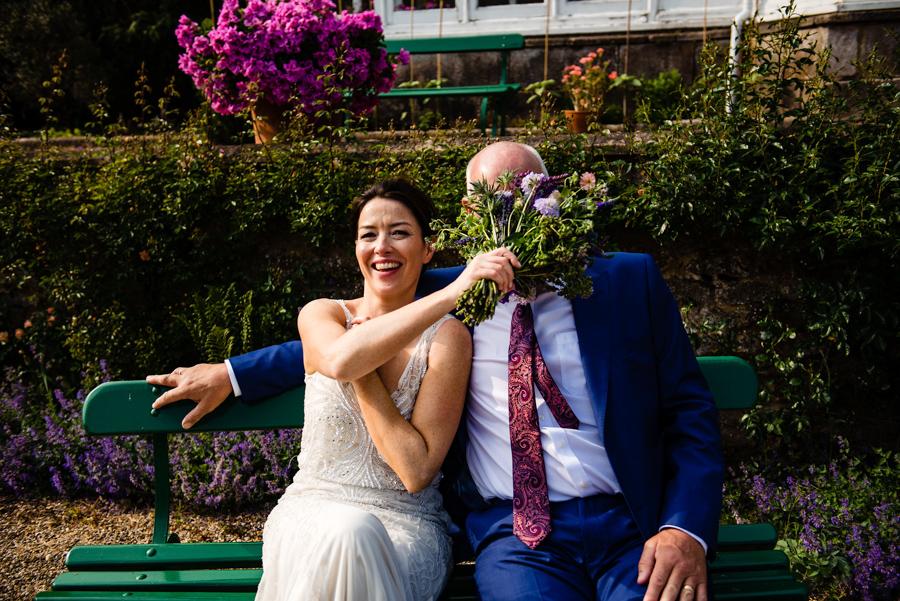 Nikki & Gareth's gloriously happy Pennard House wedding with Jonny Barratt Photography (36)