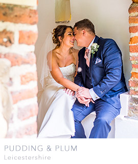 Leicestershire wedding photographers Pudding and Plum