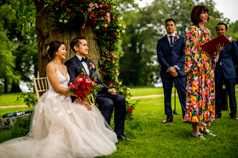 Real wedding at Aynhoe Park captured by Lina and Tom Photography