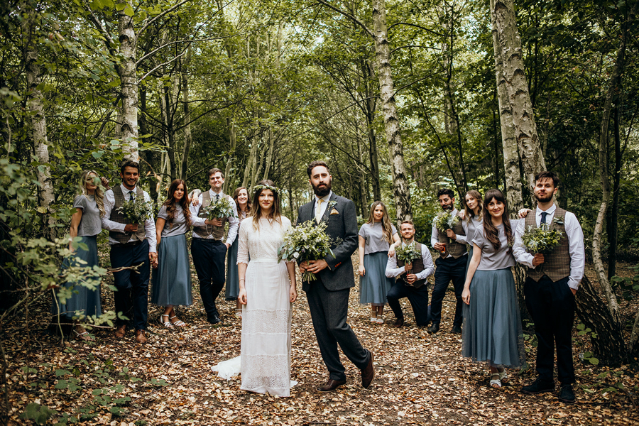 Real wedding at The Clophill Centre captured by Meghan Lorna Photography