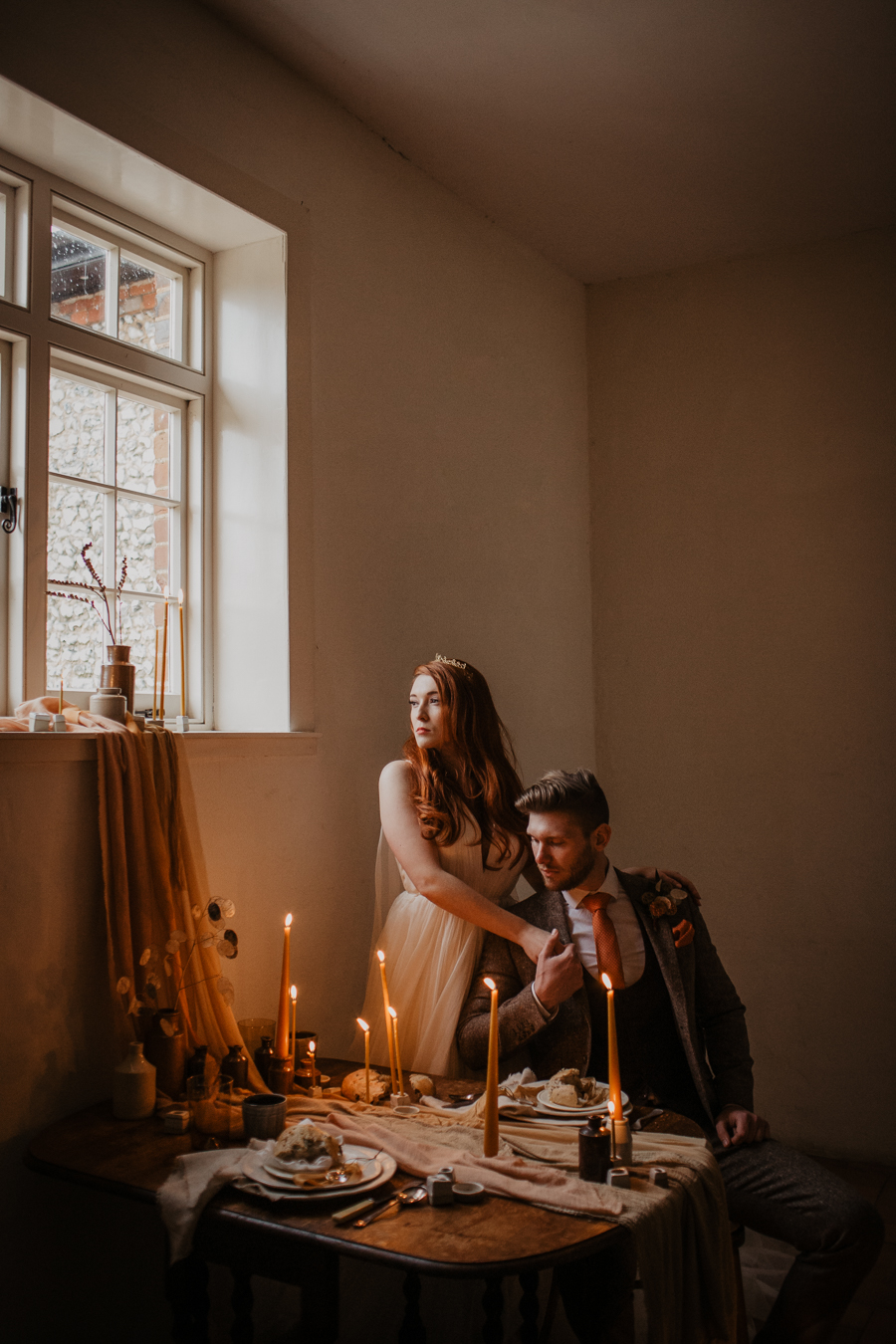 The Toast and Olivejoy Photography's breathtaking wedding styling blog from Bignor House (30)